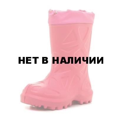 Сапоги зимние детские WOODLAND ЭВА, розовые 490НУ