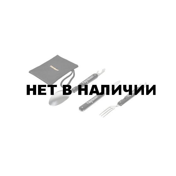 Набор столовых приборов BOYSCOUT Турист (61186)