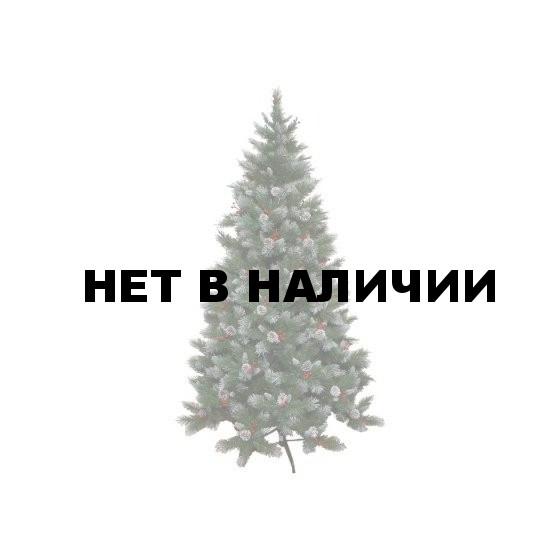 Елка Триумф Шарлотта шишки/ягоды 73979 (155см)