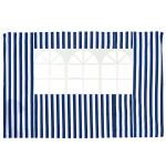 Стенка с окном (синяя) 1,95х2,95 4120