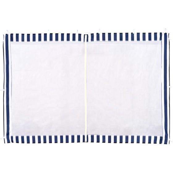 Стенка с москитной сеткой (синяя) 1,95х2,95 4140