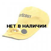 Бейсболка BOYSCOUTс вентилятором на солнечных батарейках 61484