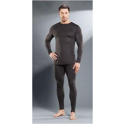 Комплект мужского термобелья Guahoo: рубашка + кальсоны (260S-DGY / 260P-DGY)