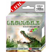 Леска SWD Crocodile 100м 0,3 (7,80кг) ваккум/уп прозрачная