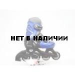 Роликовые коньки JOEREX RO0603 (синий/черный)