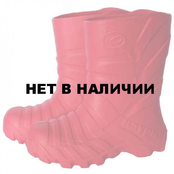 Сапоги зимние детские WOODLAND ЭВА 590У розовые