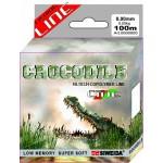 Леска SWD Crocodile 100м 0,2 (4,10кг) ваккум/уп прозрачная