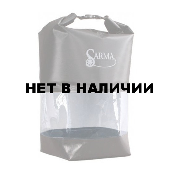 Баул водонепроницаемый SARMA с прозрачной вставкой 20л. (С 007-2)