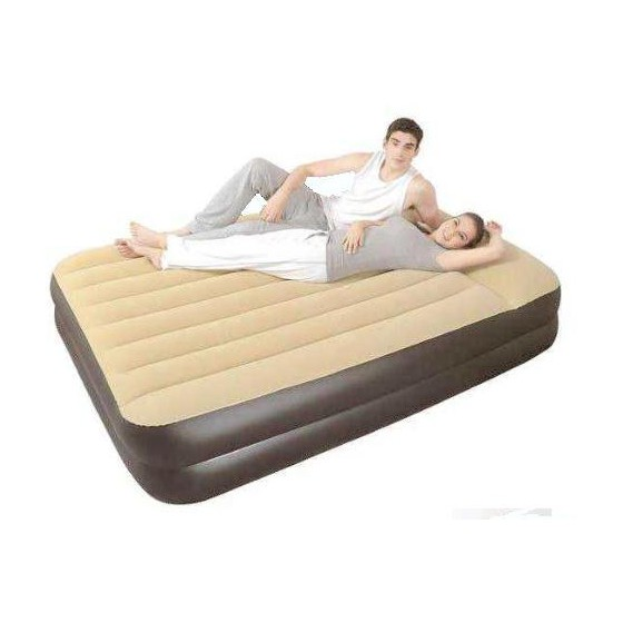Надувная кровать Relax high raised air bed Twin со встр. эл. Насосом JL027236NG 196x97x47