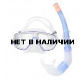 Набор маска,трубка WAVE MS-1313S5 силикон