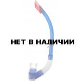 Трубка для плавания WAVE S-6148 ПВХ, синяя