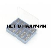 Набор крючков SWD с №3 по №12 серебро 100 шт