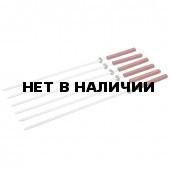 Набор шампуров с деревянной ручкой Boyscout 6 шт 55 см 61264