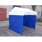 Палатка торговая 2,0х2,0 P(кабриолет) (Синий/Белый)