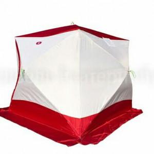 Палатка для зимней рыбалки Медведь Куб 4 трехслойная