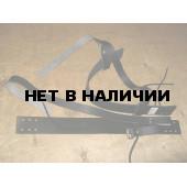 Крепление для лыж Охотничье кожа с ремнями 40мм КМ 009