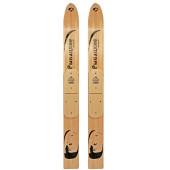 Лыжи Маяк Рыбацкие деревянные 125*11 см