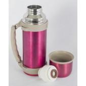Термос Indiana WD 3603 со складной ручкой 1,2 л (розовый)
