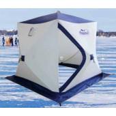 Зимняя палатка куб Следопыт Эконом 1,5*1,5 м PF-TW-07 трехслойная
