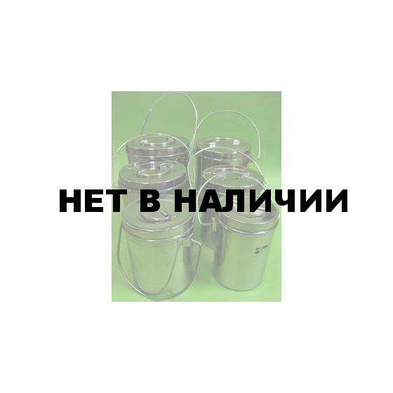 Набор котелков 555 нержавейка 6 шт