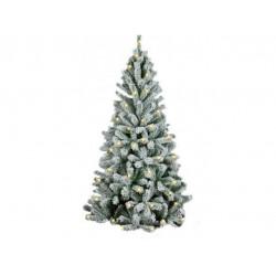 Ель Royal Christmas Flock Tree Promo Warm LED заснеженная 164210LED (210см)