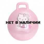 Мяч для фитнеса HELLO KITTY (с ручкой,45см,ПВХ с перламутовым эффектом ) 2770