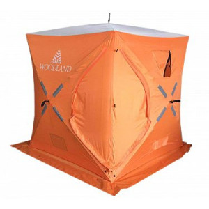 Зимняя палатка куб Woodland Ice Fish 4 New (синий)