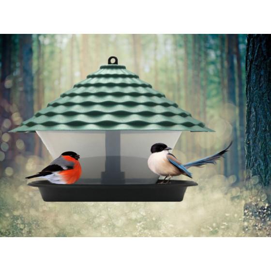Кормушка для птиц КП01 (коричневый)