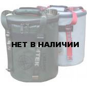 Термосумка Митек ПВХ 40*20 см (серый)