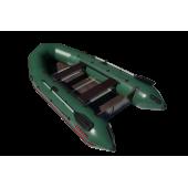 Надувная лодка Лидер Тайга Nova-340 Киль (зеленая)