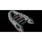 Надувная лодка Лидер Тайга Nova-340 Киль (серая)