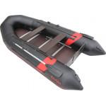 Надувная лодка Лидер Тайга Nova-340 Киль (черная/красная)