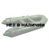 Надувная лодка Лидер Тайга-270 New (зеленая)