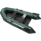 Надувная лодка Лидер Тайга-270Р (зеленая)