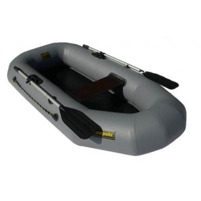 Надувная лодка Лидер Компакт-210 (серая)