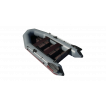 Надувная лодка Лидер Тайга-270Р (серая)