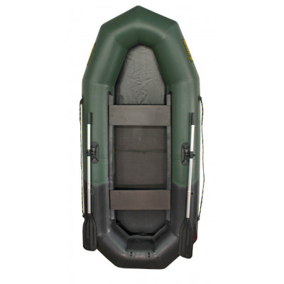 Надувная лодка Лидер Компакт-265 (зеленая/черная)