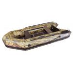 Надувная лодка Лидер Тайга-290 Киль (камуфлированная)