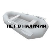 Надувная лодка Лидер Компакт-270 (серая)