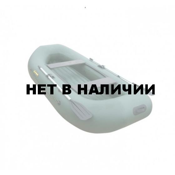 Надувная лодка Лидер Компакт-295 (серая)