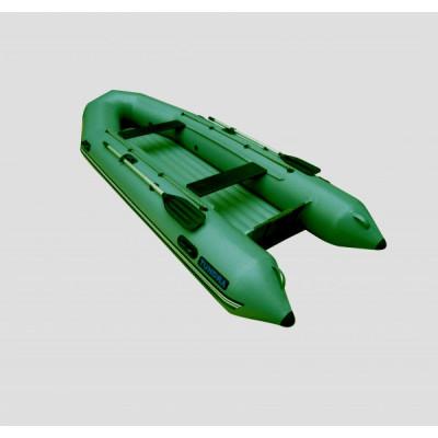 Надувная лодка Лидер Тундра-325 (зеленая)