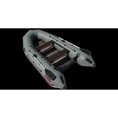 Надувная лодка Лидер Тайга Nova-320 Киль (серая)