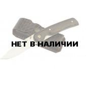 Нож Ворсма складной Амур, сталь 95х18, дерево-венге (кузница Семина)