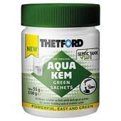 Порошок для биотуалетов Thetford Aqua Kem GREEN sachets 550 гр