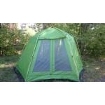 Тент-шатер WoodLand BUNGALOW со стенками б/у без части каркаса
