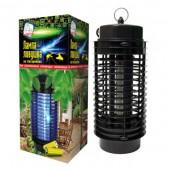 Лампа-ловушка HELP для уничтожения летающих насекомых ,на батарейках (80408)