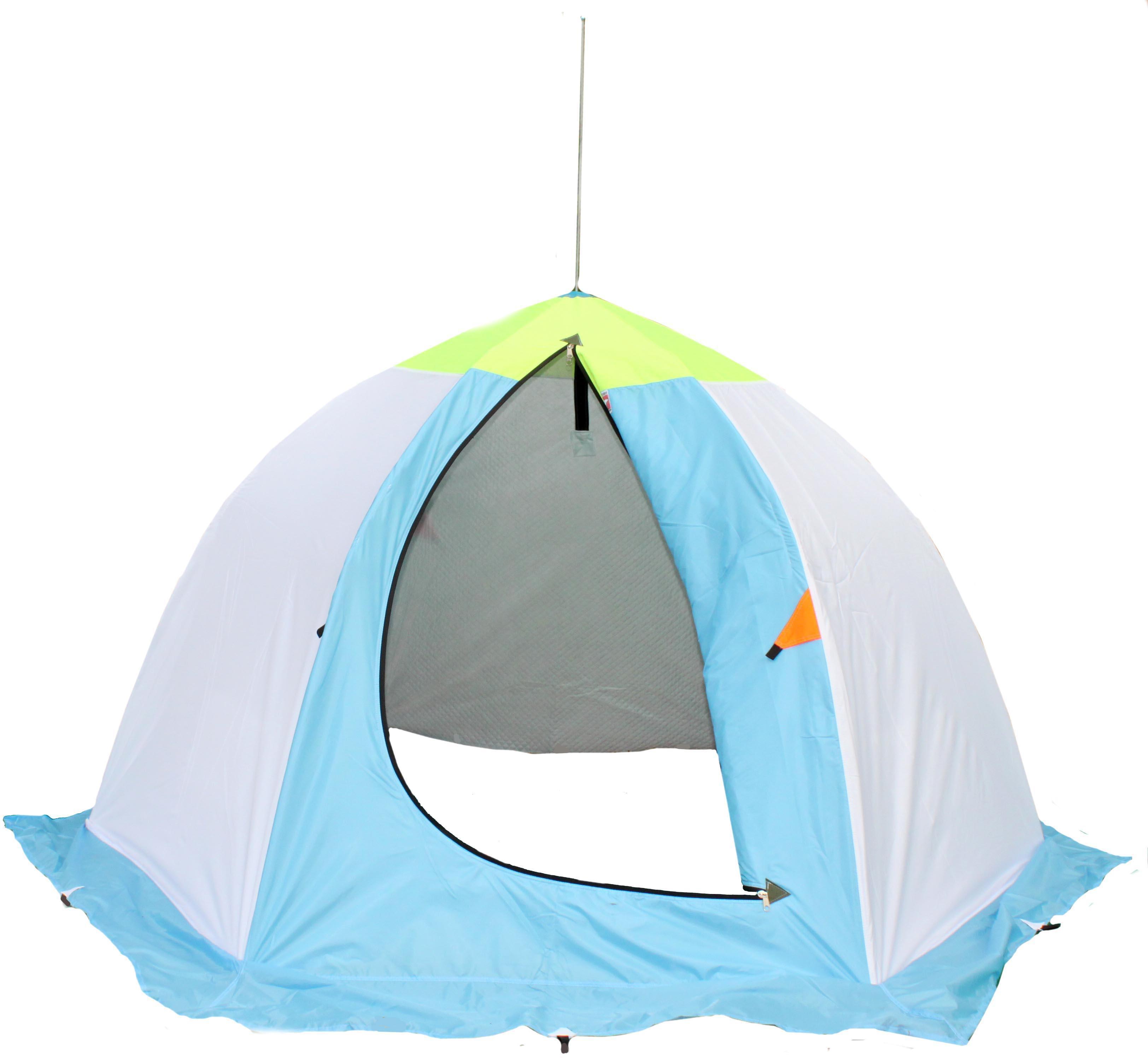 схема сборки палатки для зимней рыбалки
