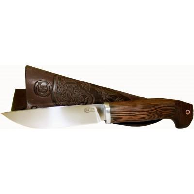 Нож Ворсма туристический Финский, сталь 95х18, дерево-венге (кузница Семина)