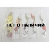 Подарочный набор блесен для ловли щуки НБЩ-5-1