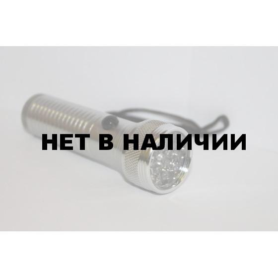 Фонарь светодиодный карманный (ФР19дк) 19 LED, металл